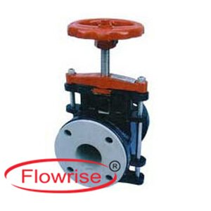 manual operated pinch valve